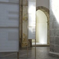 Installation temporaire à l'Abbaye de Bonmont