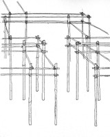 bamboo scaffold sketch